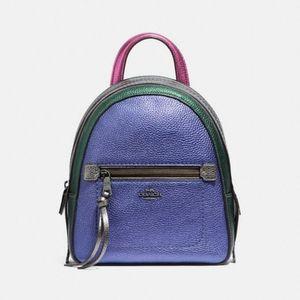 Coach Andi Colorblock Mini Backpack